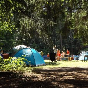 summer camp tents licensed for reuse